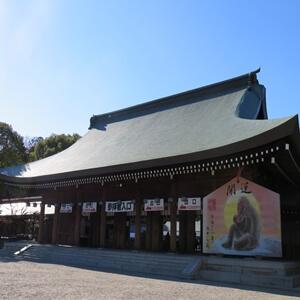 橿原神宮の本殿